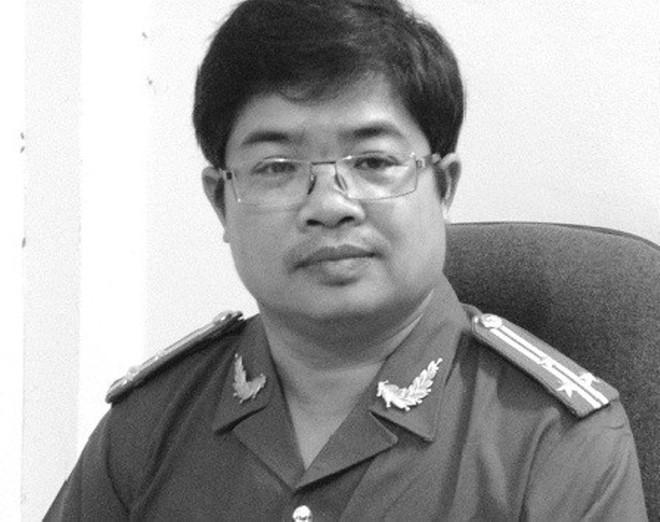Thượng tá Nguyễn Xuân Hùng.