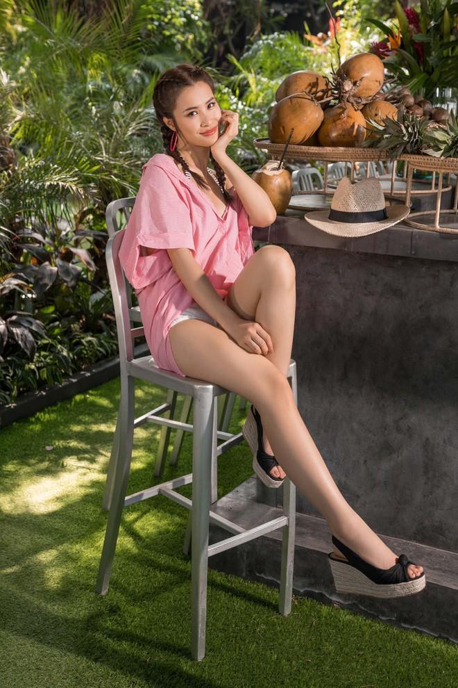Lần đầu tiên tự làm stylist cho riêng mình, Đông Nhi khiến fans bỡ ngỡ với loạt trang phục cực hot của H&M - Ảnh 5.