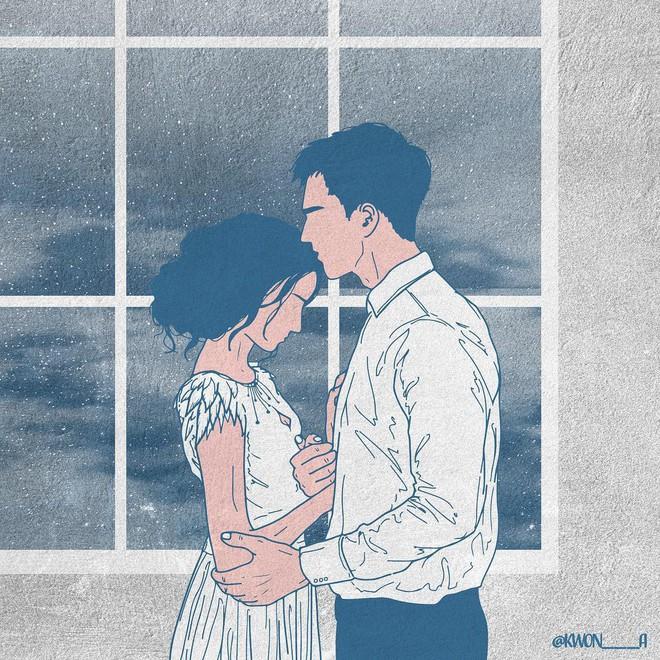 """Bộ tranh """"50 sắc thái tình yêu"""" khiến người xem tan chảy"""