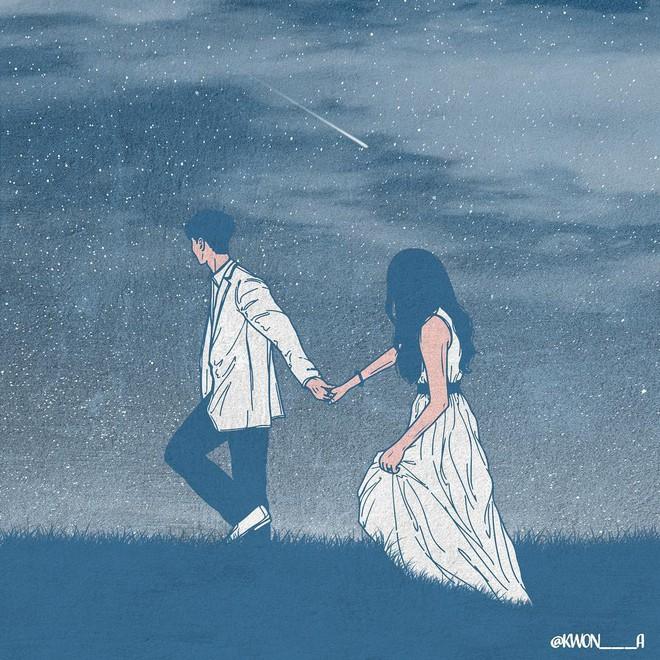 Bộ tranh 50 sắc thái tình yêu khiến người xem tan chảy - Ảnh 10.
