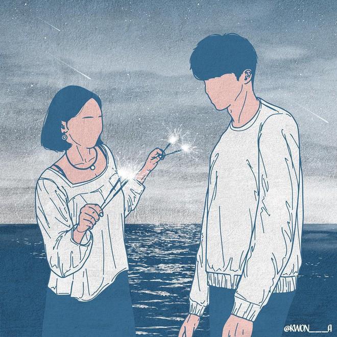 Bộ tranh 50 sắc thái tình yêu khiến người xem tan chảy - Ảnh 18.