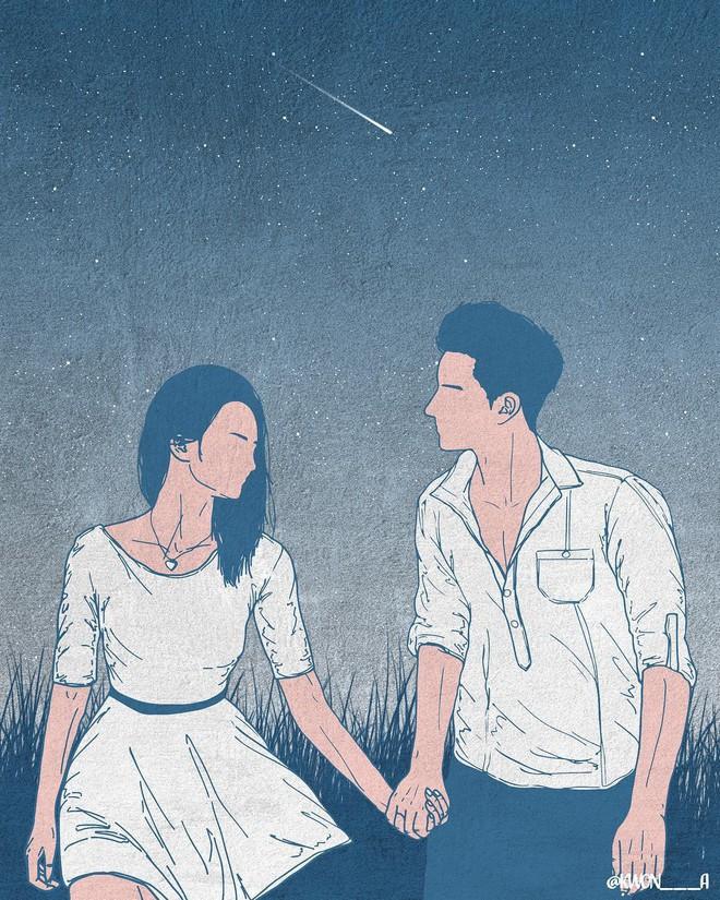 Bộ tranh 50 sắc thái tình yêu khiến người xem tan chảy - Ảnh 5.