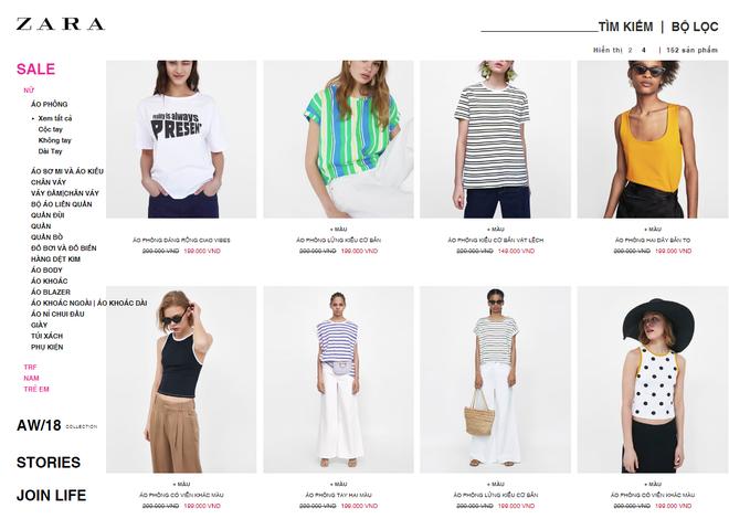 Hôm nay, Zara Việt Nam khởi động đợt sale lớn nhất năm, nhiều áo phông dưới 200k, váy hè dưới 300k - Ảnh 2.