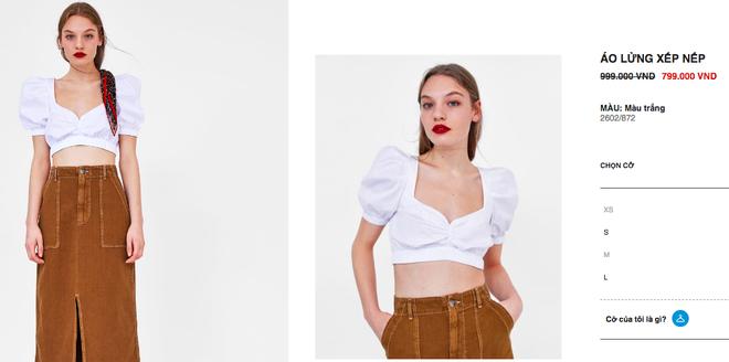 Lộ diện một thiết kế crop-top của Zara: Ngực nhỏ hay to đều gợi cảm, tinh tế hết mức - Ảnh 8.