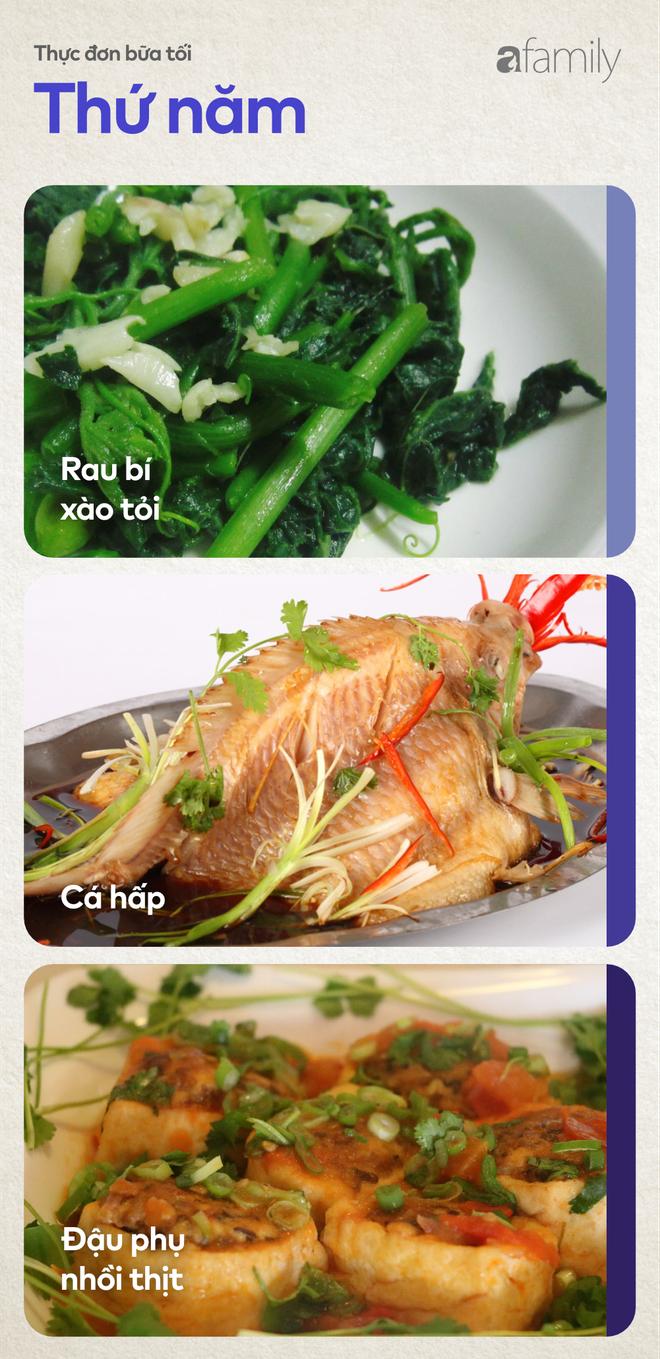 Thực đơn cơm tối cả tuần chuẩn vị thơm ngon chẳng phải lo ăn gì hôm nay - Ảnh 4.