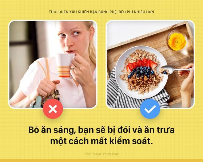 Nếu không muốn bụng, đùi ngày 1 chảy xệ lão hóa vì mỡ thì cần bỏ ngay thói quen xấu này - Ảnh 1.
