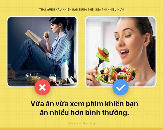 Nếu không muốn bụng, đùi ngày 1 chảy xệ lão hóa vì mỡ thì cần bỏ ngay thói quen xấu này - Ảnh 6.