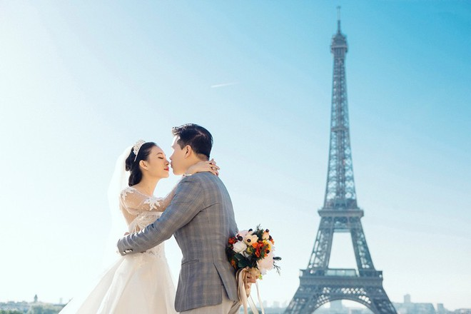 Chàng bác sỹ chi khoản tiền lớn đưa người yêu sang Pháp chụp ảnh cưới chỉ vì đó là mơ ước của em - Ảnh 8.