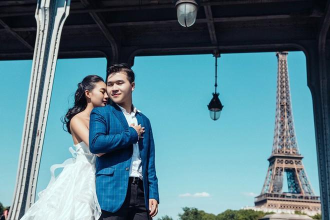 Chàng bác sỹ chi khoản tiền lớn đưa người yêu sang Pháp chụp ảnh cưới chỉ vì đó là mơ ước của em - Ảnh 3.