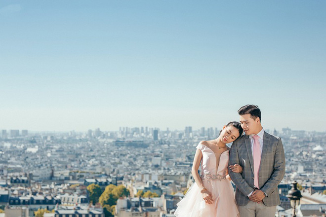 Chàng bác sỹ chi khoản tiền lớn đưa người yêu sang Pháp chụp ảnh cưới chỉ vì đó là mơ ước của em - Ảnh 1.