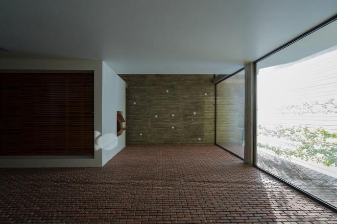 Ngôi nhà có mặt tiền gạch mộc độc nhất vô nhị ở thành phố Vinh - Ảnh 10.