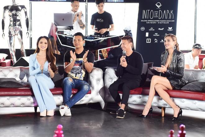 Võ Hoàng Yến và Hoa hậu Hương Giang nổi hứng chọn vũ trường làm nơi tổ chức casting người mẫu - Ảnh 1.