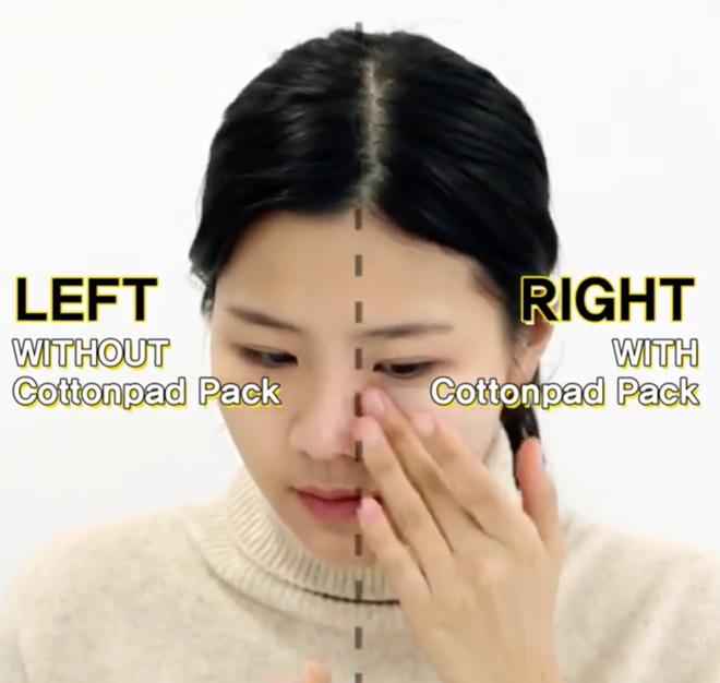 Con gái Hàn da đẹp mịn mướt là nhờ đắp thêm 2 miếng bông tẩy trang trước khi đánh kem nền hoặc cushion - Ảnh 7.