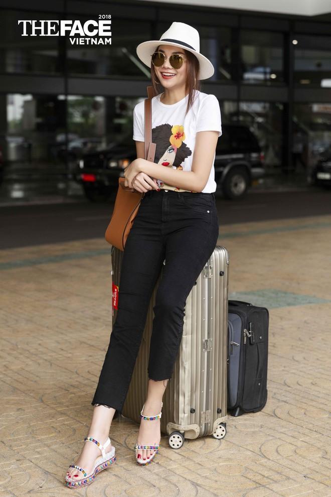 Thanh Hằng - Minh Hằng đại náo sân bay, sẵn sàng cho vòng casting The Face Hà Nội - Ảnh 2.