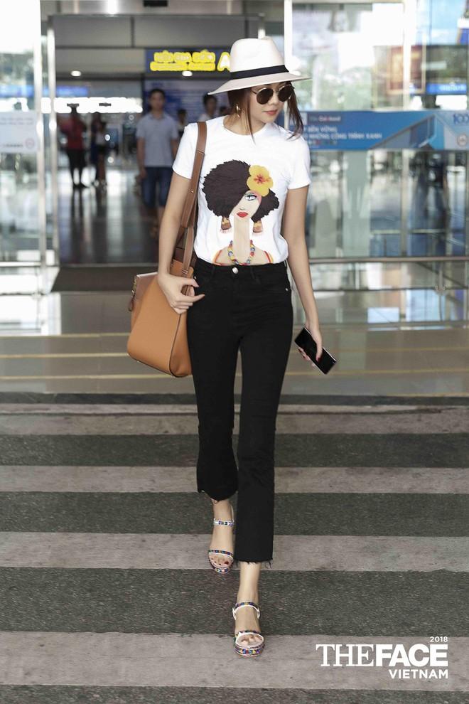 Thanh Hằng - Minh Hằng đại náo sân bay, sẵn sàng cho vòng casting The Face Hà Nội - Ảnh 3.
