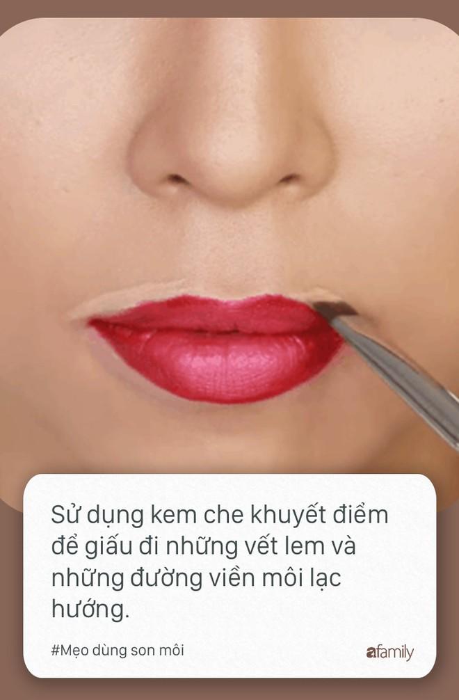 Ngày nào cũng dùng son môi mà không biết tới 11 mẹo này thì quả là đáng tiếc - Ảnh 12.