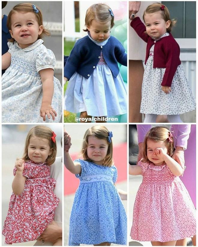 Lý do trang phục của Công chúa nhỏ Charlotte lúc nào cũng trăm lần như một - Ảnh 1.