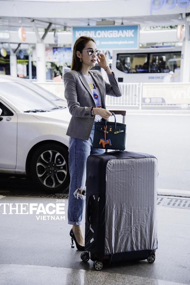Vừa bị stylist tố ki bo, Minh Hằng đã diện bộ phụ kiện gần 2 tỷ đồng ra sân bay chuẩn bị casting The Face - Ảnh 5.