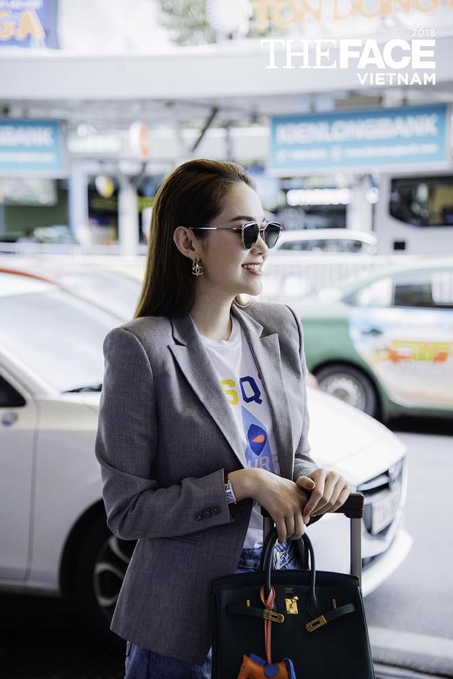 Vừa bị stylist tố ki bo, Minh Hằng đã diện bộ phụ kiện gần 2 tỷ đồng ra sân bay chuẩn bị casting The Face - Ảnh 3.