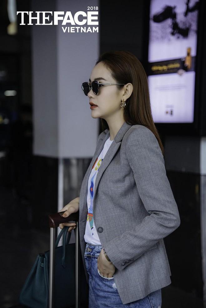 Vừa bị stylist tố ki bo, Minh Hằng đã diện bộ phụ kiện gần 2 tỷ đồng ra sân bay chuẩn bị casting The Face - Ảnh 4.