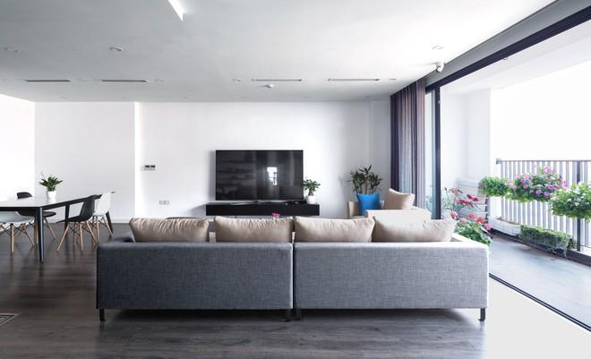 Ngắm căn hộ tối giản nhưng sang trọng và rất dễ ứng dụng cho nhà chung cư ở Cầu Giấy, Hà Nội - Ảnh 2.