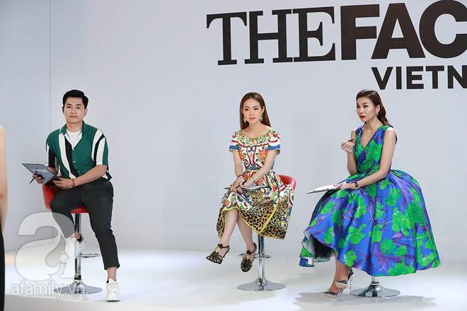 Gặp phải sự cố bất ngờ, Võ Hoàng Yến bật khóc giữa phim trường The Face 2018 - Ảnh 5.