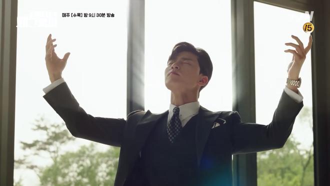 Mới tập 1 Thư ký Kim, Park Seo Joon đã khoe body 6 múi cực quyến rũ - Ảnh 1.