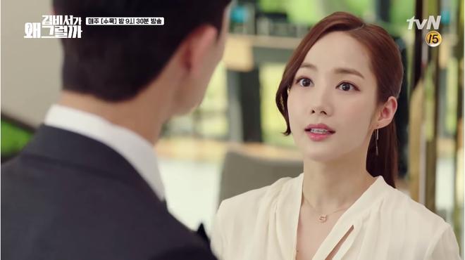 Mới tập 1 Thư ký Kim, Park Seo Joon đã khoe body 6 múi cực quyến rũ - Ảnh 4.