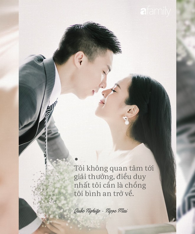 Xúc động với tình yêu lớn lao của ca sĩ Ngọc Mai dành cho Hoàng tử xiếc Quốc Nghiệp qua những câu nói này - Ảnh 3.