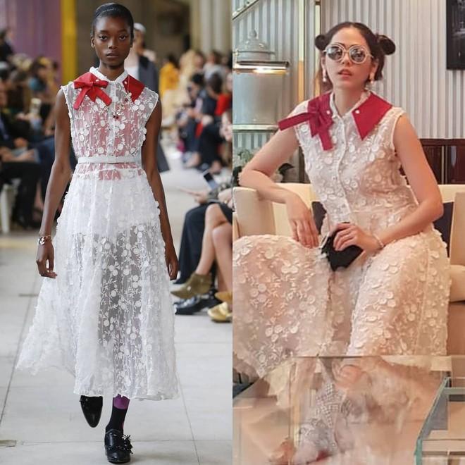 Không chỉ dừng lại ở yêu nữ hàng hiệu mỹ nhân đẹp nhất xứ chùa vàng Chompoo Araya còn mặc đồ hiệu đẹp hơn cả người mẫu trình diễn - Ảnh 1.