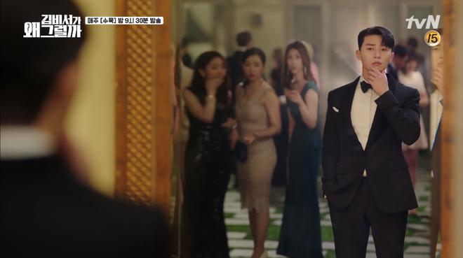 Mới tập 1 Thư ký Kim, Park Seo Joon đã khoe body 6 múi cực quyến rũ - Ảnh 7.