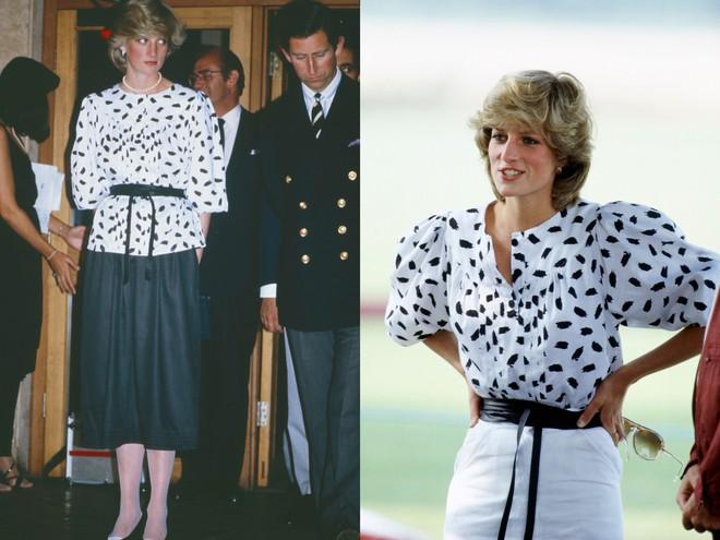 Không hổ danh fashion icon của mọi thời đại, Công nương Diana có những lần tái chế trang phục khiến nhiều người ngưỡng mộ  - Ảnh 4.