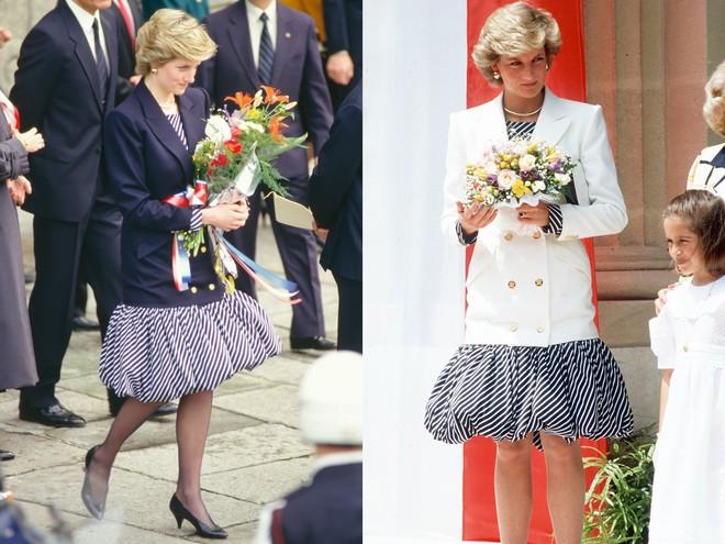 Không hổ danh fashion icon của mọi thời đại, Công nương Diana có những lần tái chế trang phục khiến nhiều người ngưỡng mộ  - Ảnh 5.