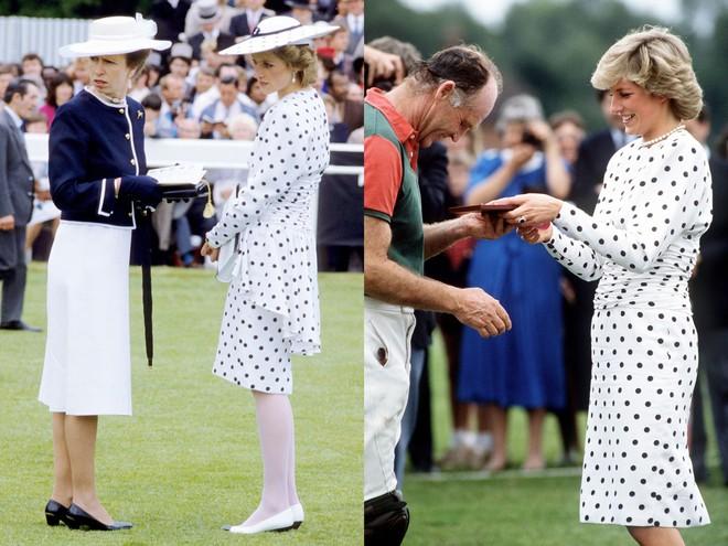 Không hổ danh fashion icon của mọi thời đại, Công nương Diana có những lần tái chế trang phục khiến nhiều người ngưỡng mộ  - Ảnh 7.