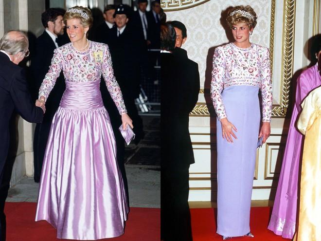 Không hổ danh fashion icon của mọi thời đại, Công nương Diana có những lần tái chế trang phục khiến nhiều người ngưỡng mộ  - Ảnh 9.