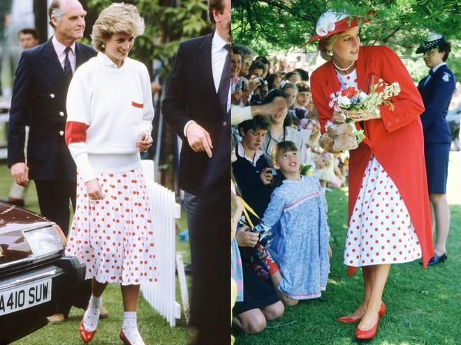 Không hổ danh fashion icon của mọi thời đại, Công nương Diana có những lần tái chế trang phục khiến nhiều người ngưỡng mộ  - Ảnh 6.