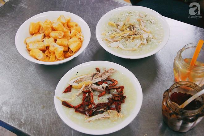 Khám phá món cháo đậu xanh bò khô có 1-0-2 gần 10 năm tuổi trong ngõ Bạch Mai - Ảnh 7.