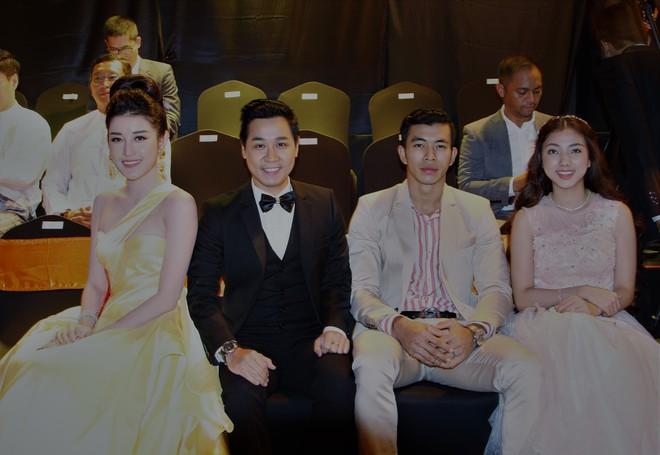 Á Hậu Huyền My e ấp bên Nguyên Khang tại sự kiện quốc tế ở Myanmar - Ảnh 9.