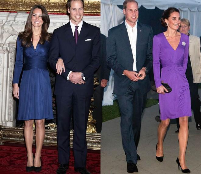"""Để ý mới thấy, Công nương Kate Middleton thường xuyên diện lại """"đồ cũ"""" theo cách mà hiếm ai nhận ra - Ảnh 5."""