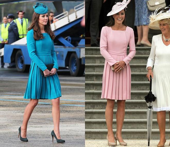 """Để ý mới thấy, Công nương Kate Middleton thường xuyên diện lại """"đồ cũ"""" theo cách mà hiếm ai nhận ra - Ảnh 7."""