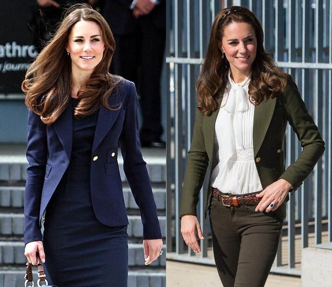 """Để ý mới thấy, Công nương Kate Middleton thường xuyên diện lại """"đồ cũ"""" theo cách mà hiếm ai nhận ra - Ảnh 8."""