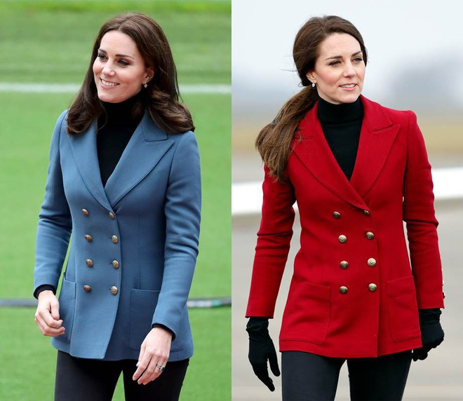 """Để ý mới thấy, Công nương Kate Middleton thường xuyên diện lại """"đồ cũ"""" theo cách mà hiếm ai nhận ra - Ảnh 9."""