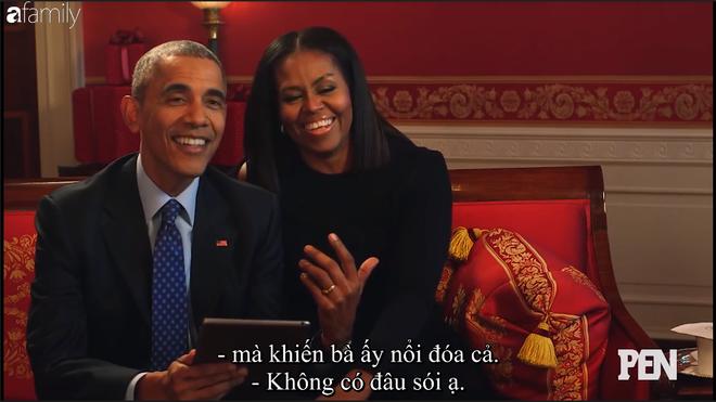 Cười ngất khi Đệ nhất phu nhân Michelle liên tục nói xấu Cựu tổng thống Barack Obama trên truyền hình - Ảnh 5.