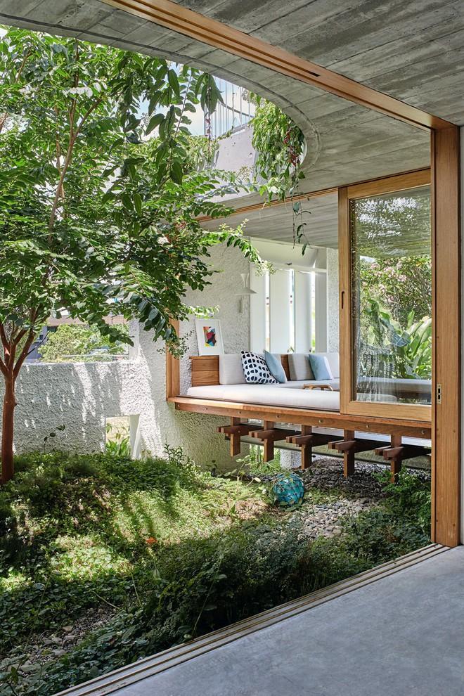 Ngôi nhà ở nông thôn đẹp bình yên và lãng mạn nhờ cải tạo theo phong cách Địa Trung Hải - Ảnh 4.