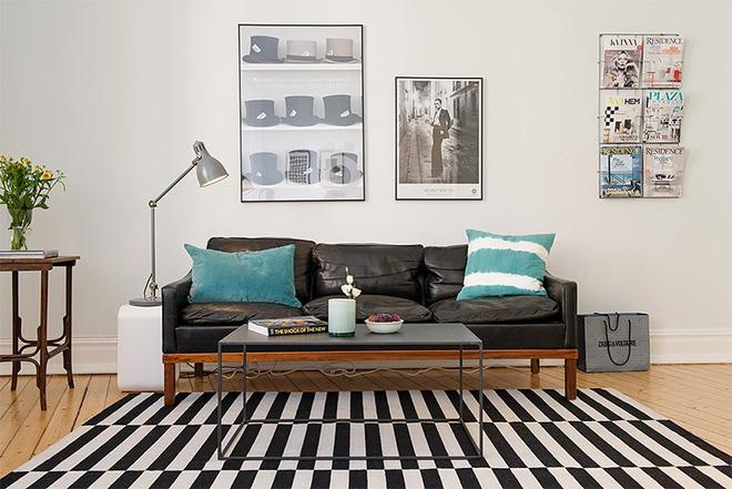 Trang trí nhà với hai gam màu đen và trắng sẽ khiến không gian sống của bạn không bao giờ bị lỗi mốt - Ảnh 6.