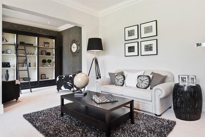 Trang trí nhà với hai gam màu đen và trắng sẽ khiến không gian sống của bạn không bao giờ bị lỗi mốt - Ảnh 7.