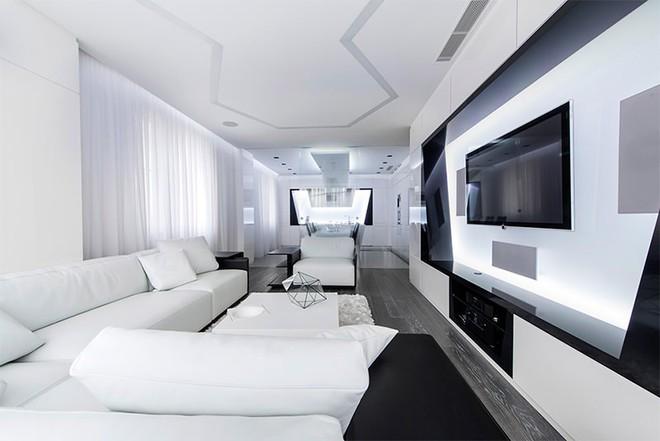 Trang trí nhà với hai gam màu đen và trắng sẽ khiến không gian sống của bạn không bao giờ bị lỗi mốt - Ảnh 8.