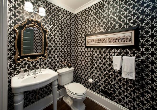 Trang trí nhà với hai gam màu đen và trắng sẽ khiến không gian sống của bạn không bao giờ bị lỗi mốt - Ảnh 18.