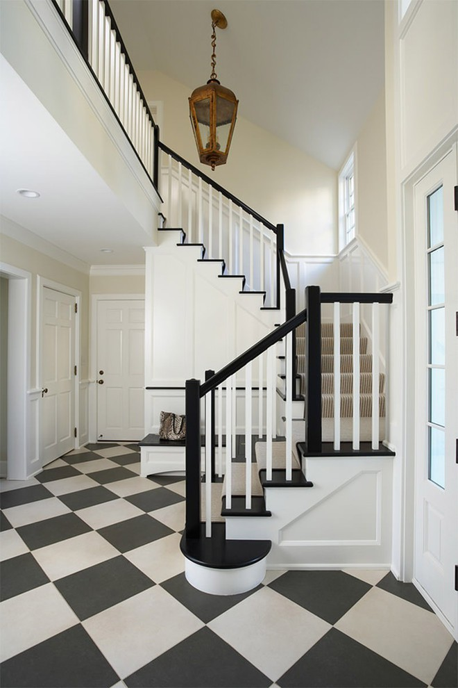 Trang trí nhà với hai gam màu đen và trắng sẽ khiến không gian sống của bạn không bao giờ bị lỗi mốt - Ảnh 13.
