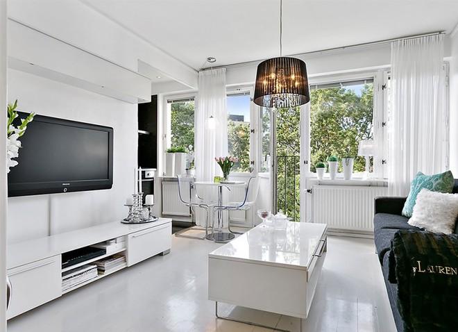 Trang trí nhà với hai gam màu đen và trắng sẽ khiến không gian sống của bạn không bao giờ bị lỗi mốt - Ảnh 14.